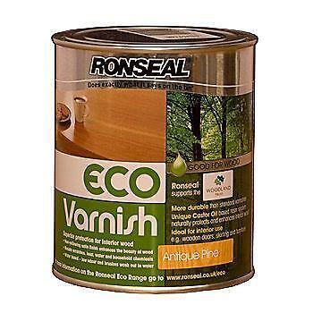 Ronseal Varnish Antique Pine Ebay