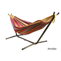 Double Hammock with Stand - Excellent Condition
