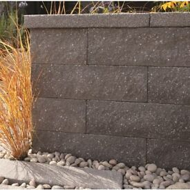 Bradstone Panache Walling Silver Grey 440mm X 100mm X 140mm Large quantity available