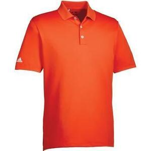 Adidas Performance Polo Orange BC2996 Mens Golf Shirt