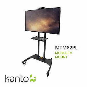 Kanto - Support mobile télé avec tablette réglable