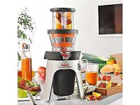 New Tefal ZC500H40 Infiny Press Revolution Juicer with 2 Filters for Juice/Coulis, 300 Watt £85 ono