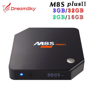 M8S Plus 2 OCTA CORE ANDROID 6 TV BOX, 32GB