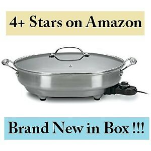 Cuisinart Electric Skillet (Model #CSK-150) --- BNIB, $90 ONLY!!