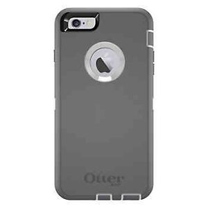OtterBox Rugged Protection Grey 6/6s Plus  Windsor Region Ontario image 1