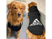 Adidog and Dog Face Dog coats, jackets, raincoats, hoodies and more.