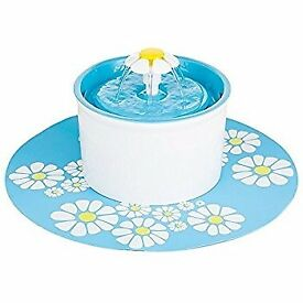 Silent Pet Fountain 1.6L in Blue