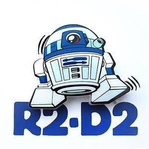 Star wars R2 D2 wall mount light in package. Night light.