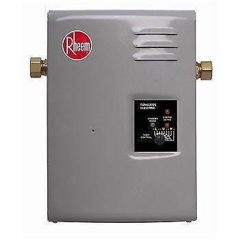 Rheem Electric Water Heater Ebay