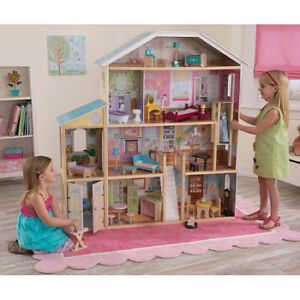 BLACK FRIDAY SALE ON DOLL/BARBIE DOLLHOUSE MANSION Watch|Share |