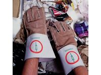 Polyco anti syringe anti needle gloves gauntlets brand new in packaging