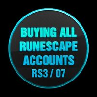 Best Place to Sell Your Runescape 2007 Accounts ! (OLDSCHOOL RS)
