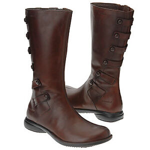 New Merrell Leather Boots Brown Women Size 7 Strathcona County Edmonton Area image 2