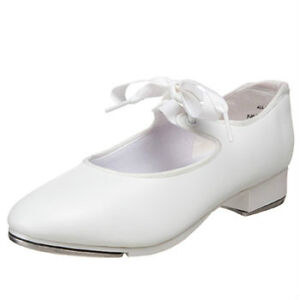 White tap shoes youth size 11 1/2 Wide
