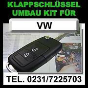 VW Klappschlüssel 2 Tasten