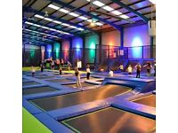 IntoTheBlue Experience Gifts & Memories -for example, Jump In Trampolining Arena, Enfield Opens Jan