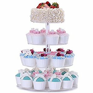 Cupcake Stand-NEW-Birthday-Showers-Party-Decorate Your Own-CHEAP