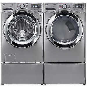 LG Stackable Washer and Dryer W/ Turbo Wash