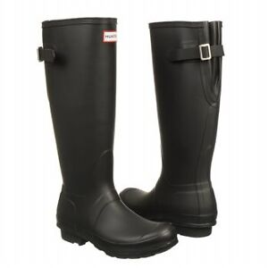 Wanted tall black hunter boots