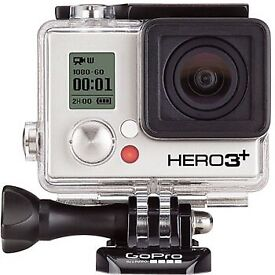GoPro with 2 x batteries and housing