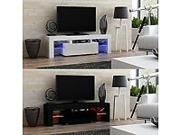 Tv stand led changing lights with remote