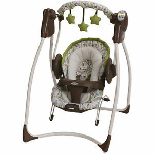 Infant duo swing/seat plug in