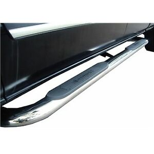 "Running boards - 4"" oval chrome - 2013 Dodge Ram 1500 Crew"