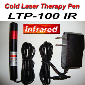 Cold laser therapy pen.