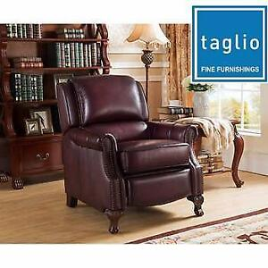 NEW TIZIANO LEATHER RECLINER CHAIR A7010 187732810 ACTON TAGLIO TOP GRAIN LEATHER