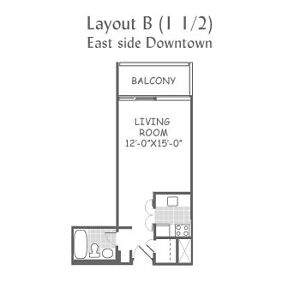 SUBLET-A Studio-Downtown Montreal