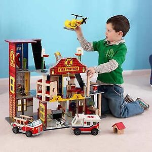 Deluxe Fire Station - New in box!