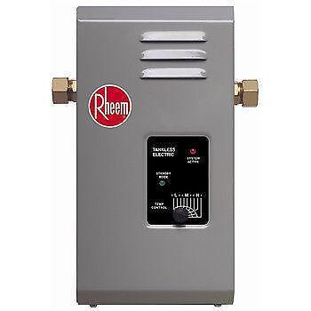 Rheem Electric Tankless Water Heater Ebay