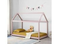 CN-I63 SINGLE HOUSE BED PINK