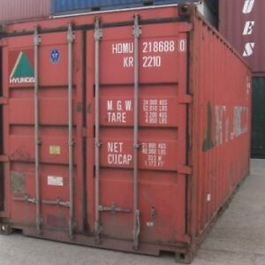 Sea Containers 20' and 40' used for sale Stratford Kitchener Area image 1