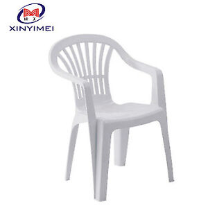 Outdoor Plastic stackable chairs & table