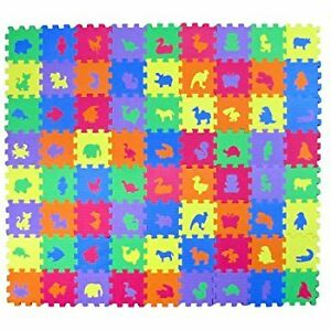 5.5 in mini foam mats with animals