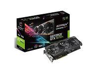 NVidia GPUs: ASUS TURBO 1080; ASUS ROG STRIX 1070ti & 2x ZOTAC AMP! Extreme 1070 ti graphics cards