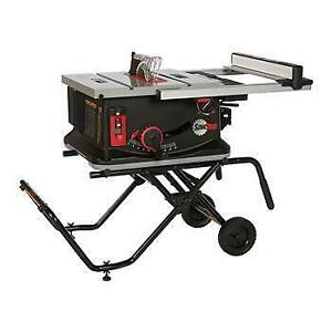 Jobsite 10 Table saw 1.5 HP 120VAC - Sawstop JSS-MCA