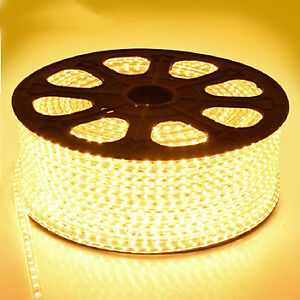 50m 110V led strip light Christmas house decor deck