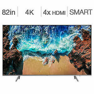 "New 2019/2020 model Samsung 82"" 4K HDR LED smart tv UN82RU8000"