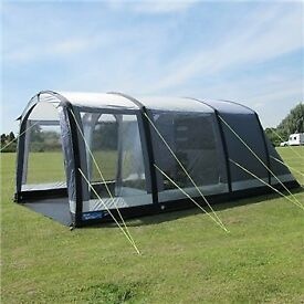 New Kampa Hayling 4 air ( inflatable) blowup 4 berth tent, carpet and footprint
