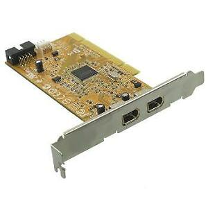 low profile PCI Firewire card with dual port