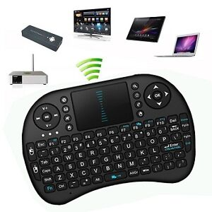 Mini Wireless Keyboard with Touchpad Mouse $25