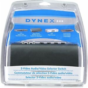 Dynex  S-Video Audio/Video Selector Switch - Multi
