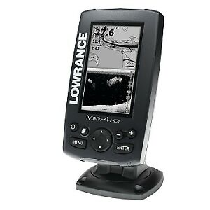 Lowrance Mark-4 HDI fish finder and chart plotter