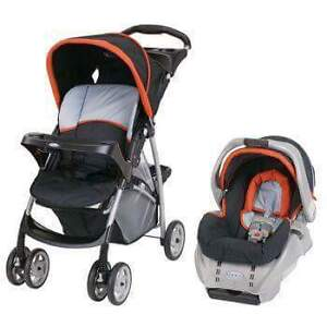 Greco stroller & car seat combo