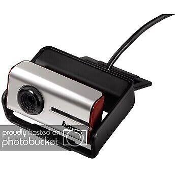 Hama Webcam Evolution Zero 2,0 Mpix mit Mikrofon, Autofocus PC Notebook Kamera