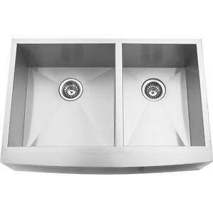 CLEARANCE Premium Commercial Grade Stainless Steel Kitchen Sinks (Single & Double Bowl)