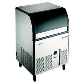 Scotsman Commercial self-contained ice maker machine stainless steel fully working