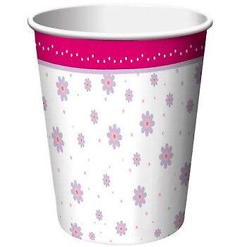 - Tutu Much Fun 9oz Paper Hot/Cold Cups Girls Ballerina Birthday Party